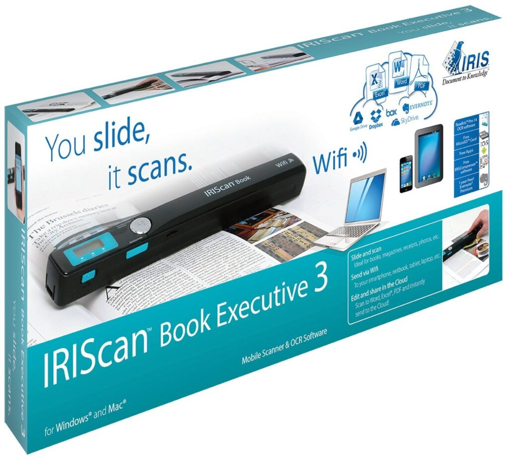 iriscan book executive