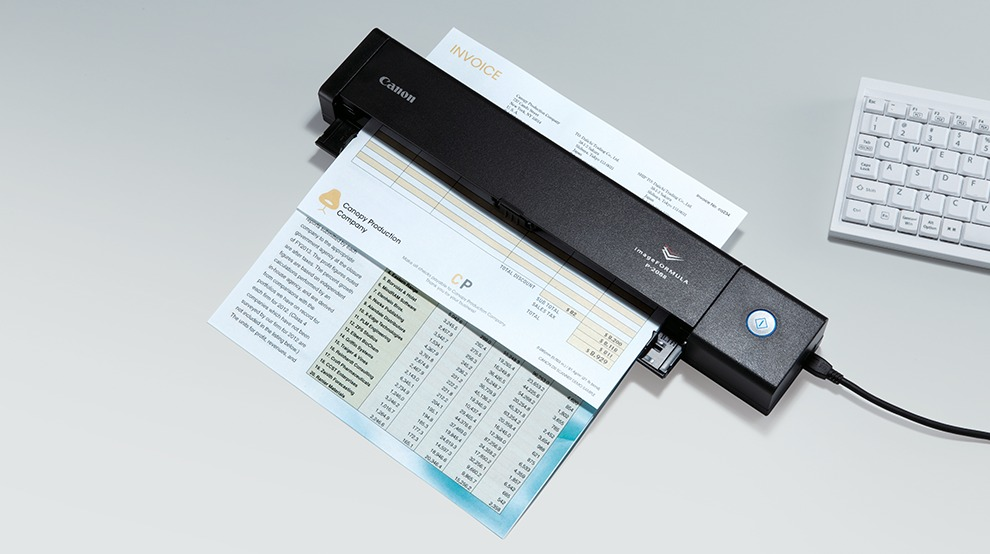 scanner portable Canon P-208ii 1