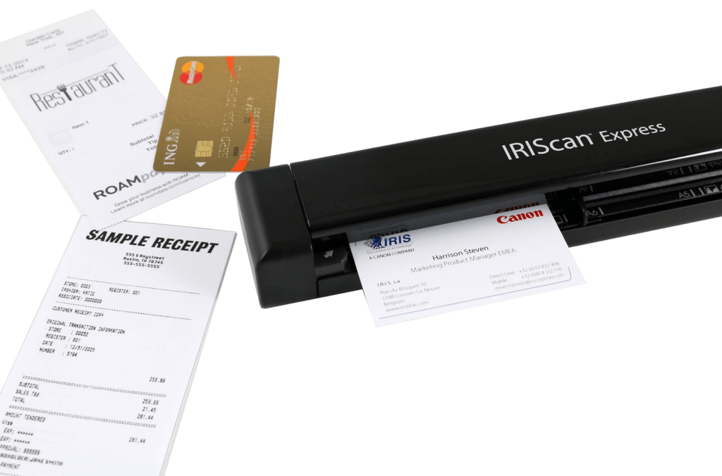 scanner portable IRISCan Executive 4